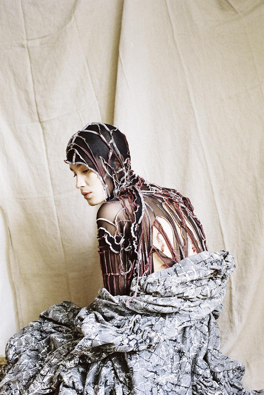 J Ross by BA (Hons) Creative Direction for Fashion graduate Caroline Wong.
