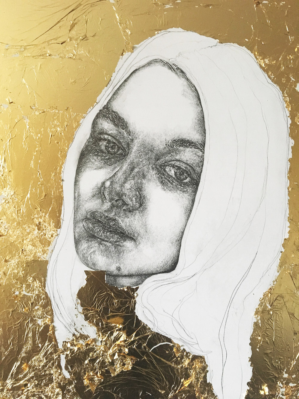 The Gold Series by graduate Nina Miles Hilpern.