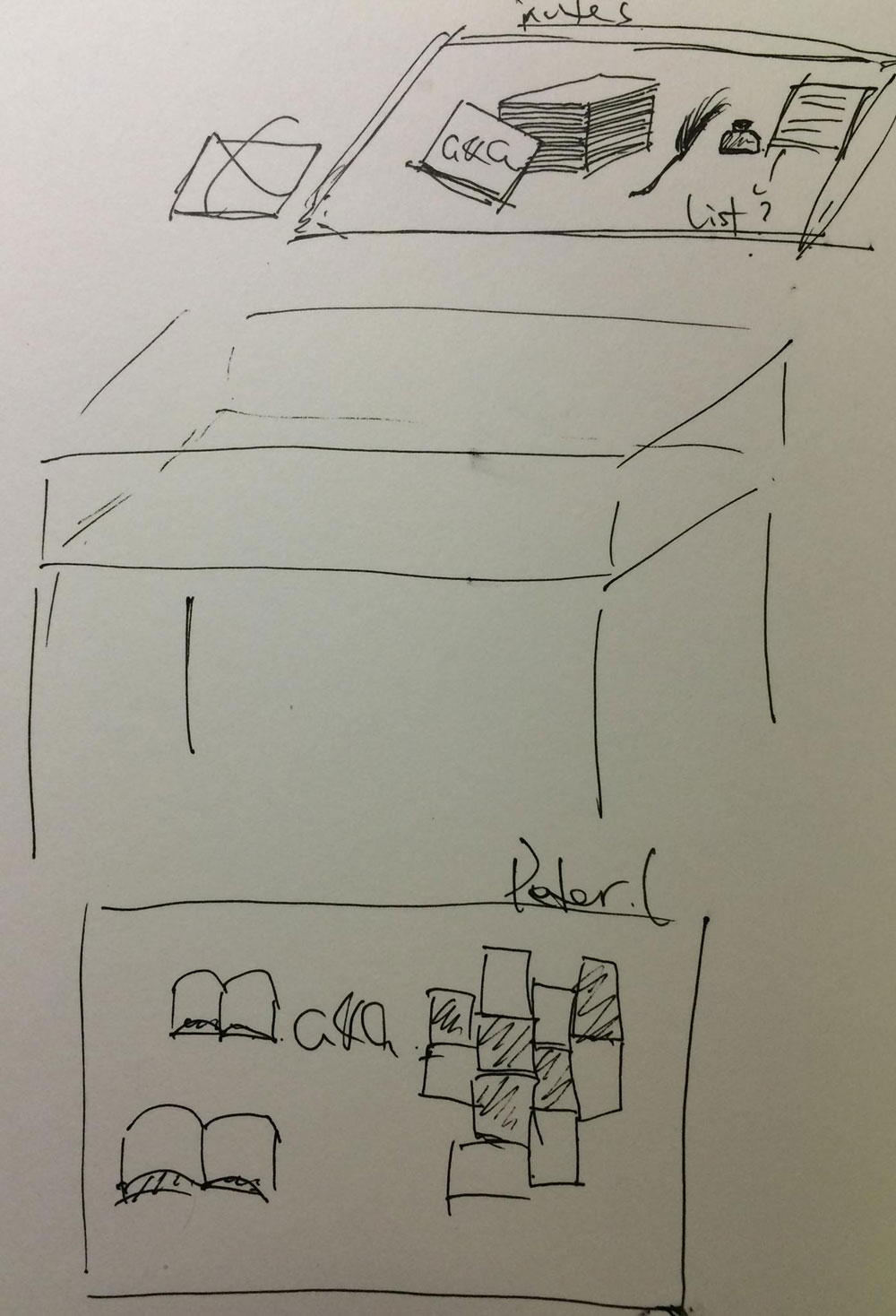 Sketch by Pooky Lee