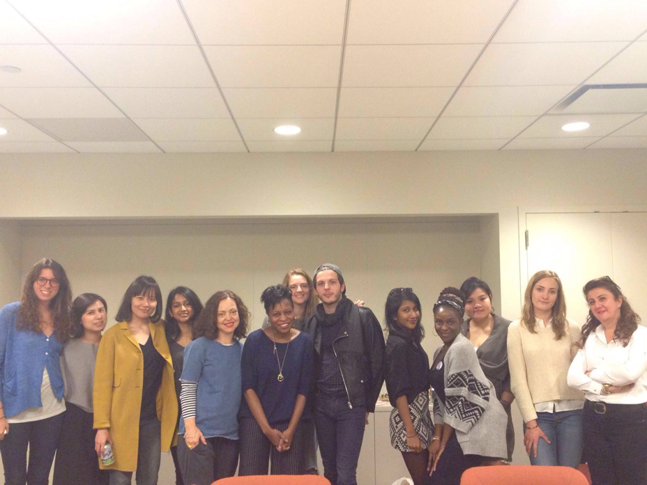 LIM and LCF students together during a visit to New York.