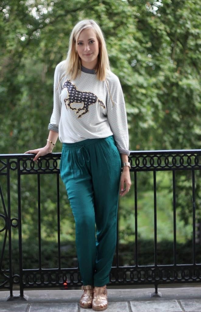 MA Fashion Design Management student, Gerda Micke