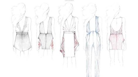Nayana Kodesia design sketches
