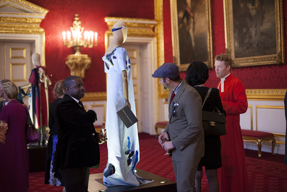 Art of Dress collection on display at St James's Palace.