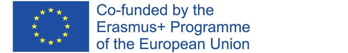Co-funded by Erasmus+ logo