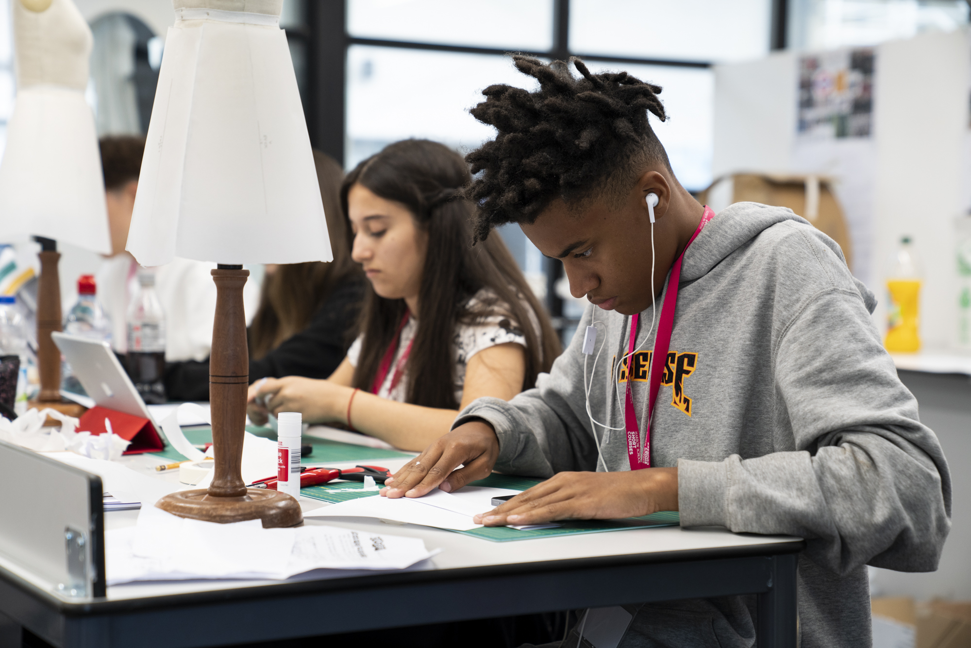 Fashion Design and Making: Residential Summer School (14-16 Year Olds)