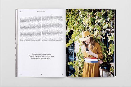 Domenic Lippa and Jeremy Kunze: YES & NO Vitalie Taittinger spread; photo, Ki Price