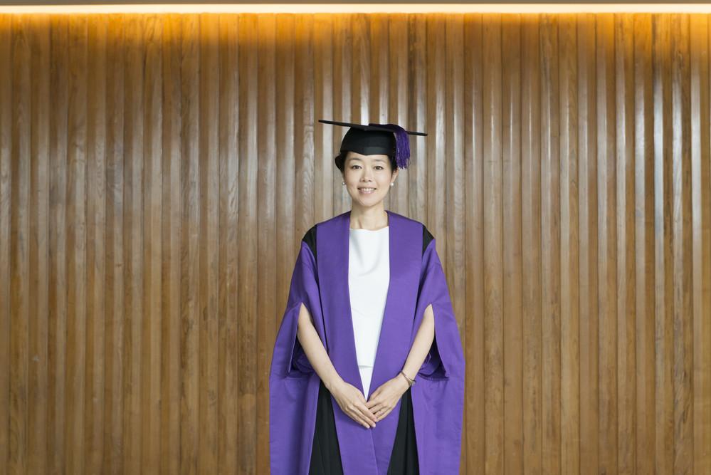 Mariko Mori at UAL's 2014 Graduation Ceremonies