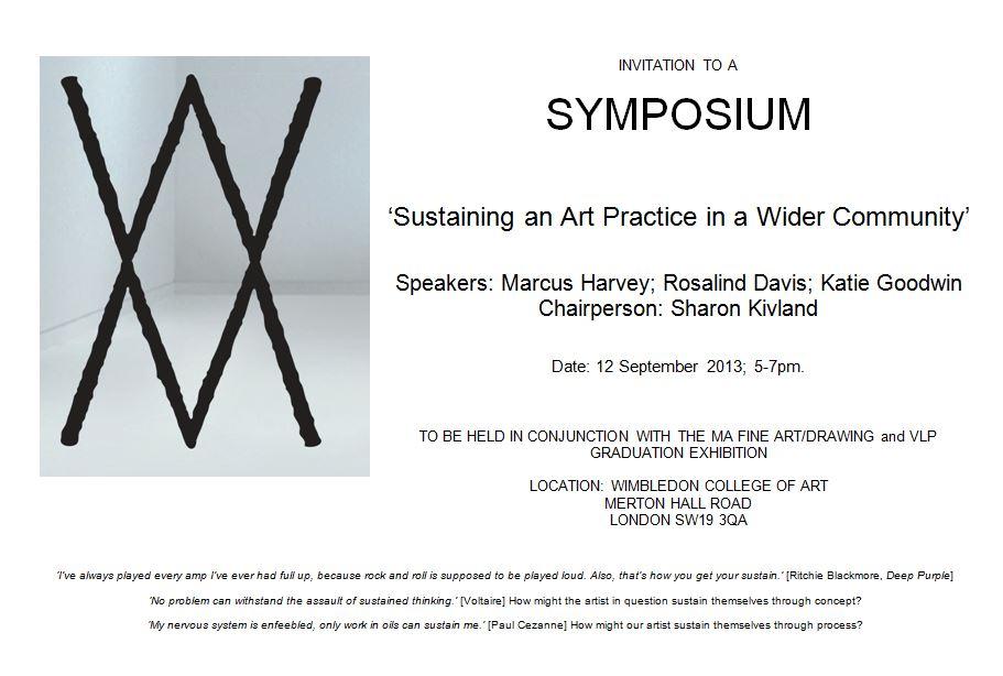 invitation to a symposium