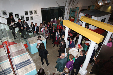 The launch of the Made in Mexico exhibition at the Fashion and Textile Museum. Photography by Gavin Freeborn.