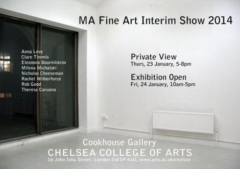 MA Fine art interim show