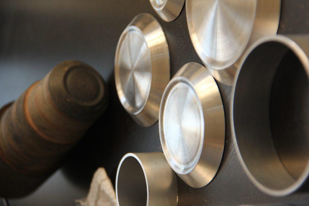 Jaxon Pope modular gas burners work in process
