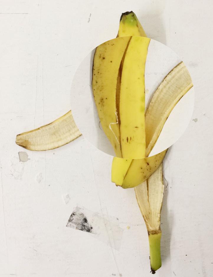 'Circle banana' (Photoshop drawing)