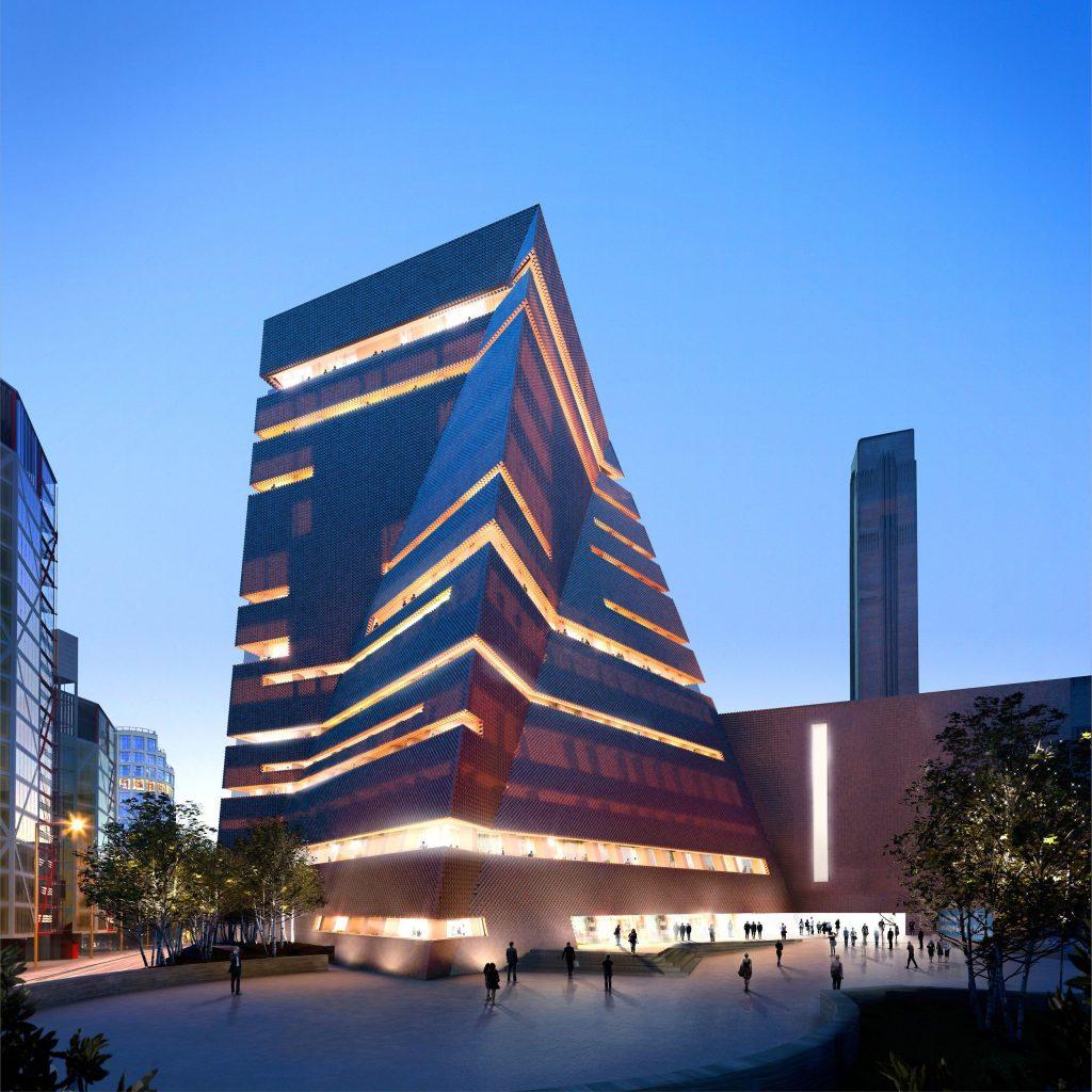 The new Tate Modern © Hayes Davidson and Herzog & de Meuron