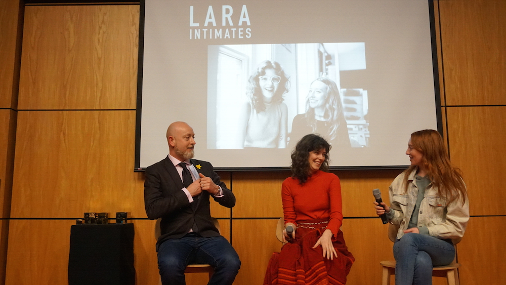 Last year's winners Lara Intimates spoke about their journey since winning the prize and graduating.