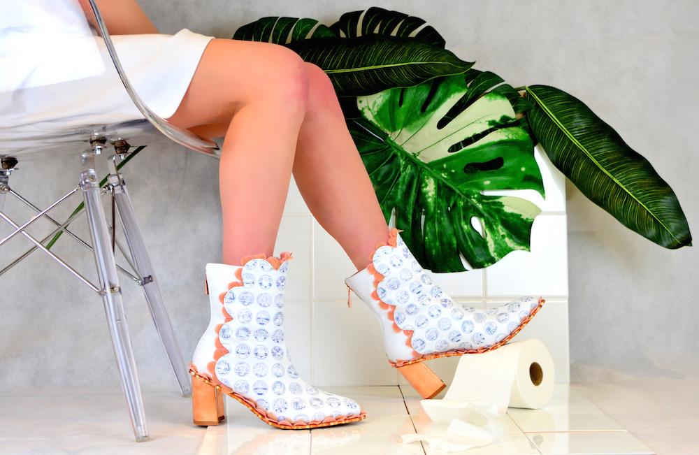 BA (Hons) Cordwainers Footwear graduate Eleanor Sinden.