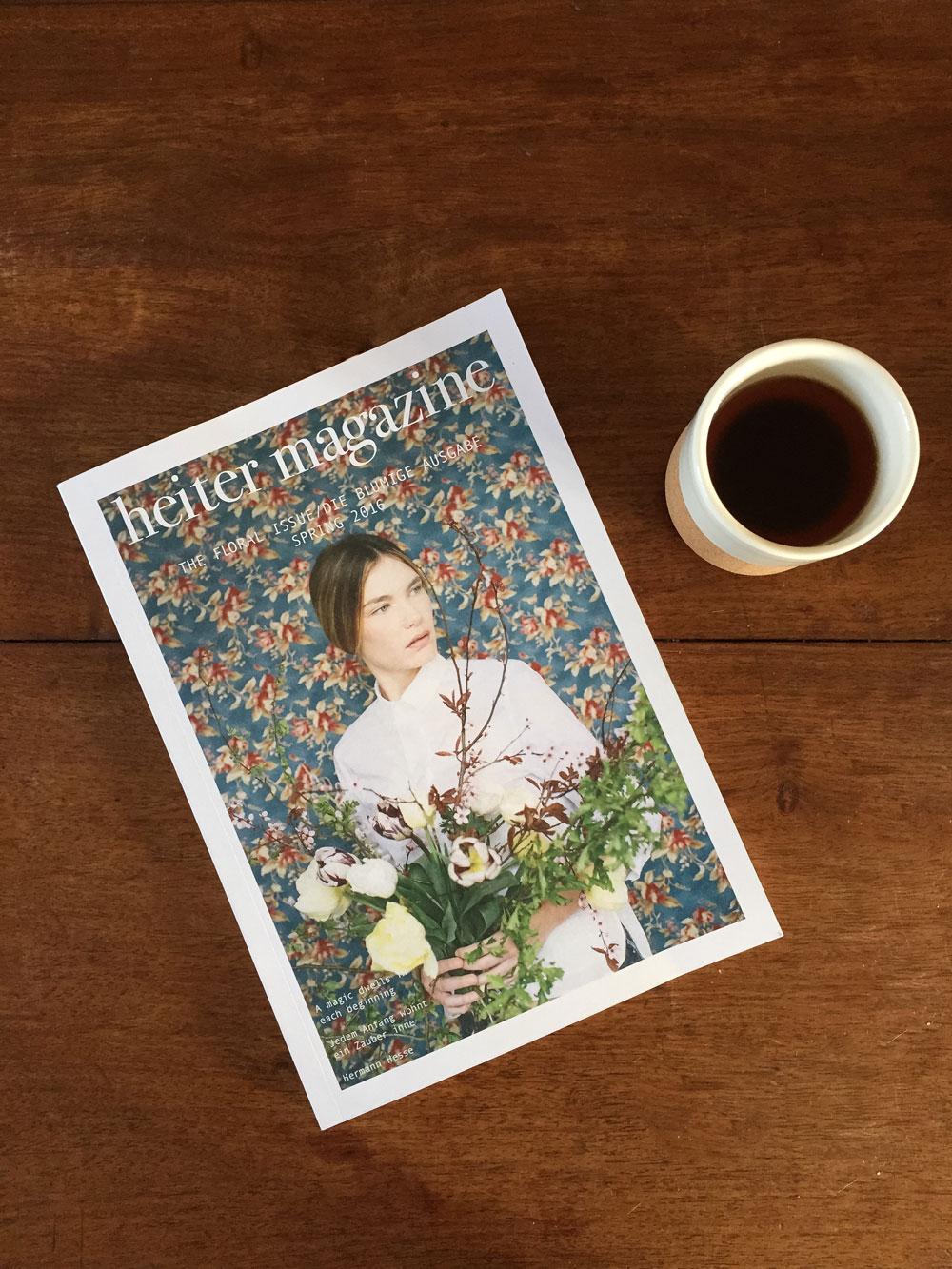 heiter magazine by Katharina