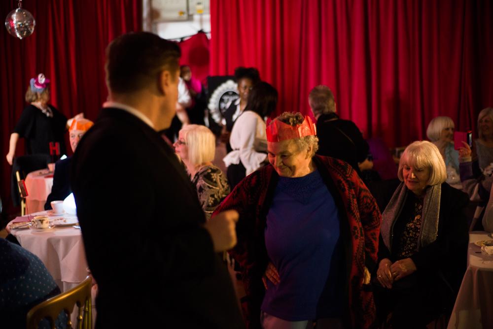 Guests at Posh Club in LCC Studio.