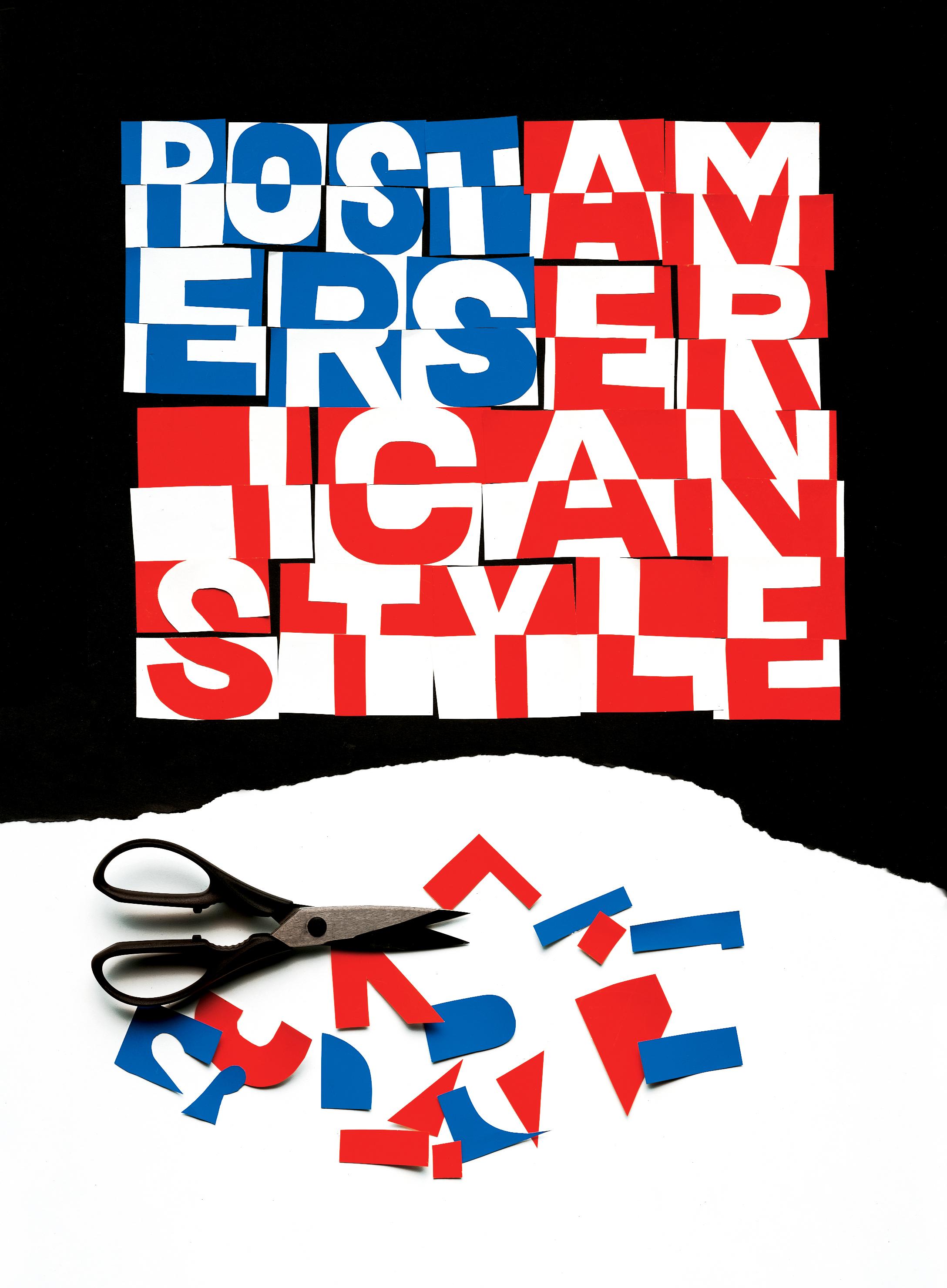 Posters American Style (1998) by Ivan Chermayeff
