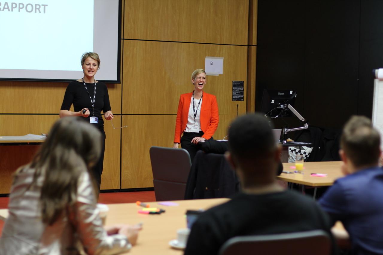 Creative leadership workshop.