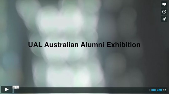 Australia UAL exhibition video