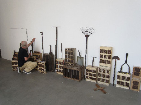 Roger Ackling in Chelsea Space