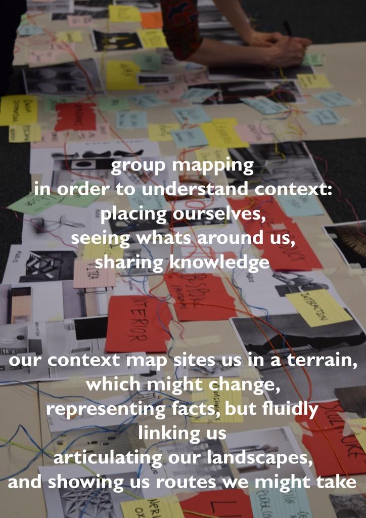 MA Designer Maker Context Mapping - Text, Bridget Harvey PhD
