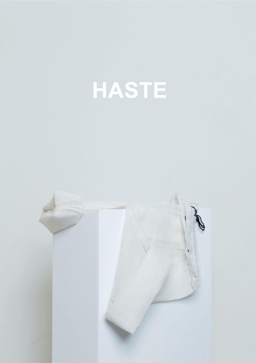 Haste by Alice Davidson