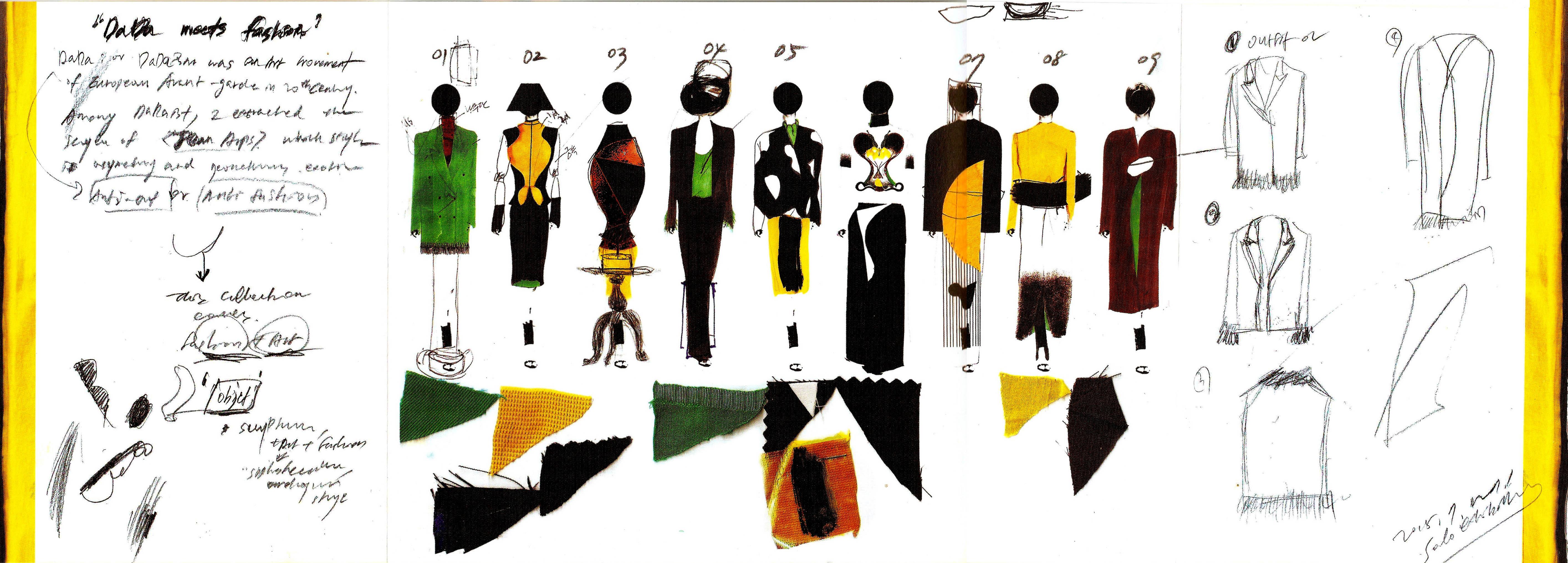 Hana Cha, 'Dada Meets Fashion'