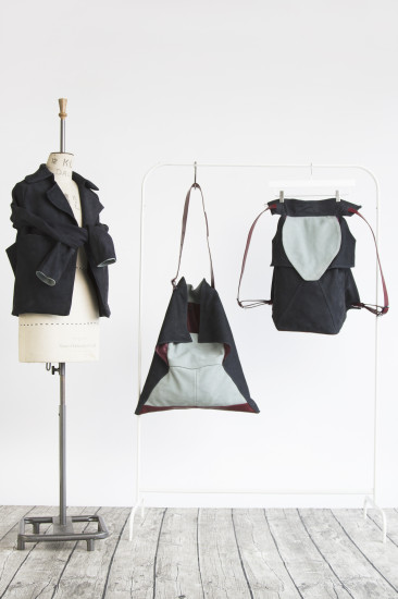 An image from BA (Hons) Cordwainers Fashion Bags and Accessories: Product Design and Innovation student Charlotte Bright's final collection