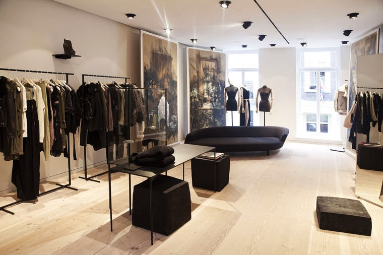 Acne Store London [Source, Drapers Online]