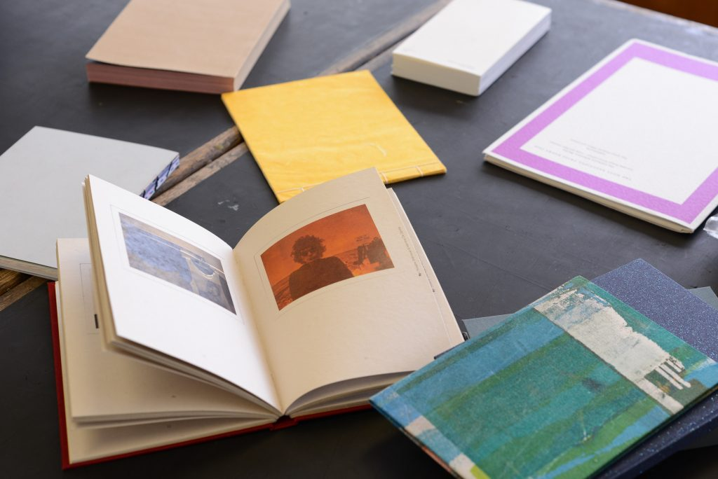 Photobooks preparation at LCC studios. Image by Bryan Lanas.