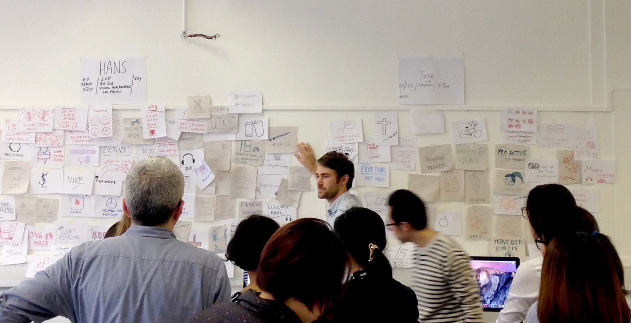 Service Design workshop taking place
