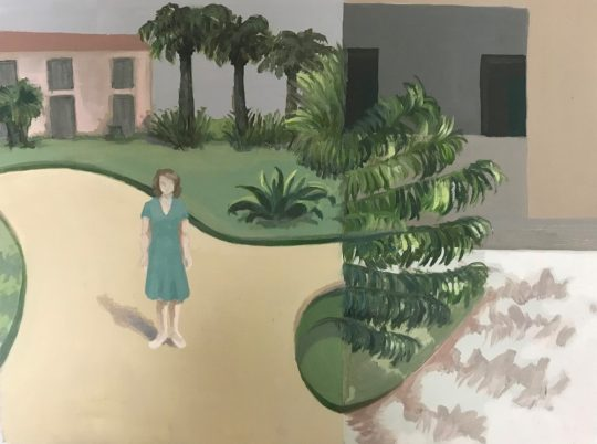 Nicole Price - Palm Trees and Fronds Image courtesy Made in Arts London