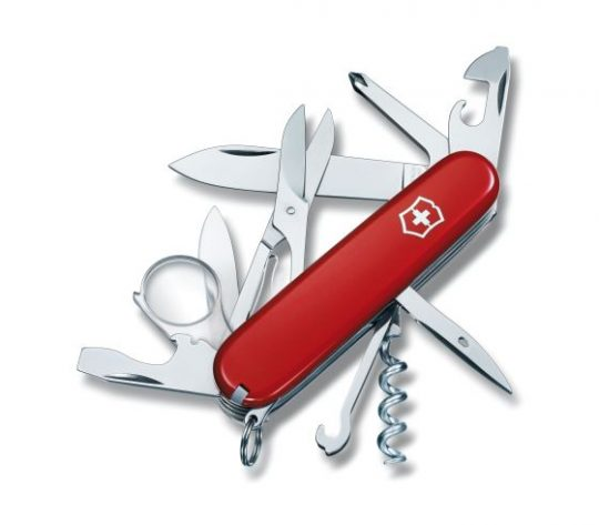 Designs that make you smile Swiss Army Explorer Knife