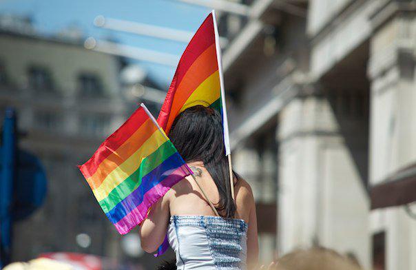 Pride Parade London photograph Alex Simmons