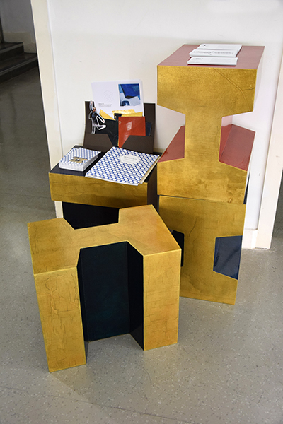 Work by Gwendoline Porte, winner of the Dean's prize for Graduate Diploma Interior Design.