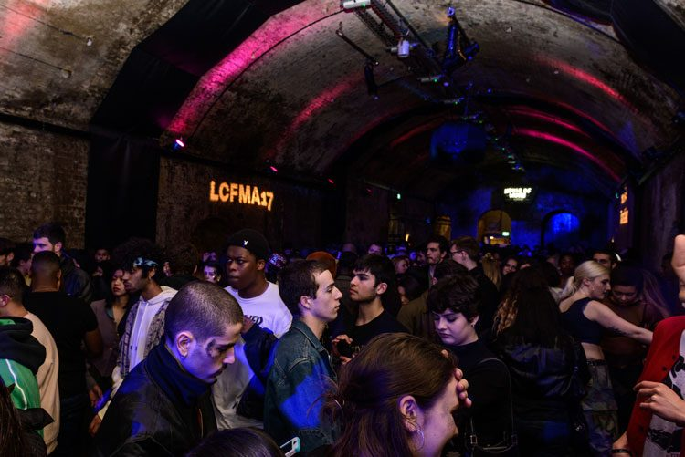 LCFMA17 closing party. Image by Ludovica Galleazzi