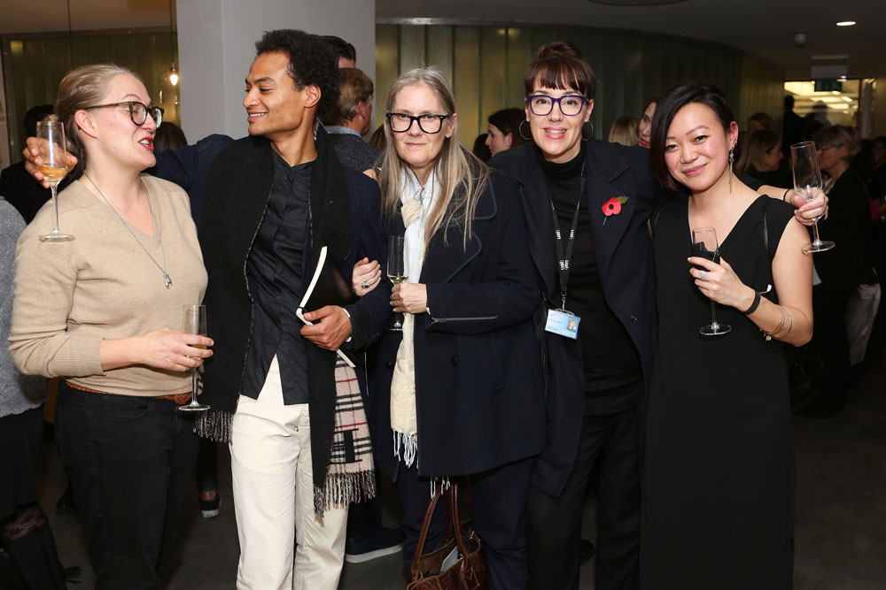 Kering Finalist Martin Brambley and guests
