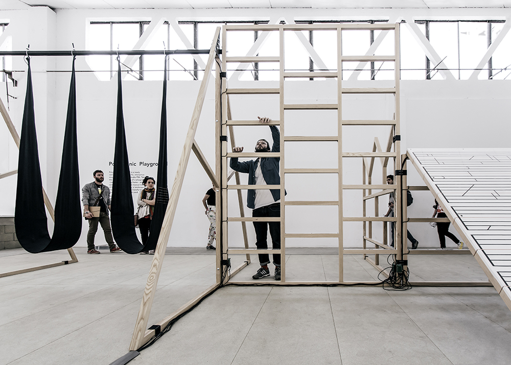 The Polyphonic Playground LAB will be at our Mare Street site until the 27 September 2015, it's previously appeared in Miami and Milan.