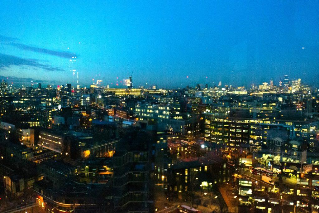 London Skyline [image by Lewis Bush].