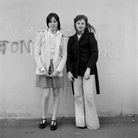 Portrait from the Free Photographic Omnibus, Brighton, Sussex. May 1974.