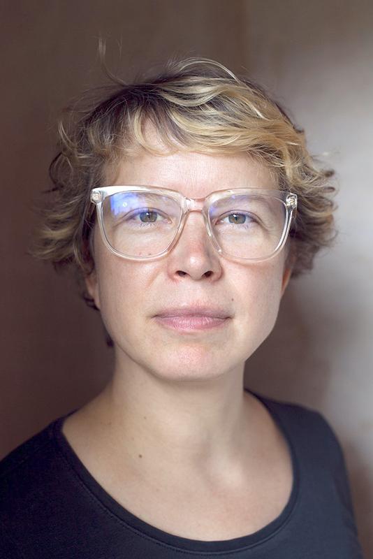 Portrait photograph of Ilga Leimanis