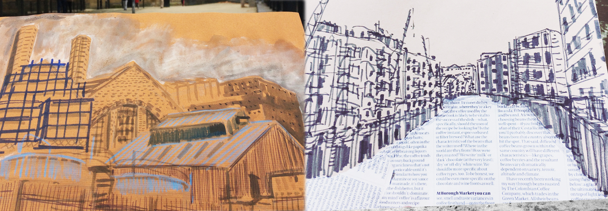 Townscape Sketching