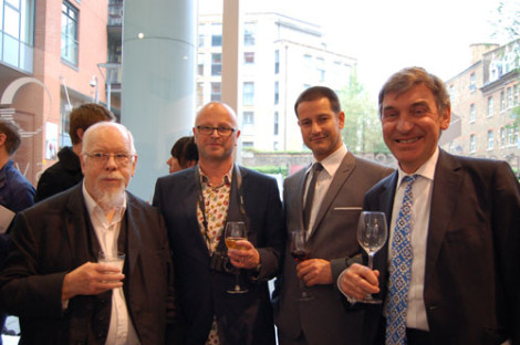 Sir-Peter-with-Donald-Smith,-Paul-Pritchard-and-Nigel-Carrington