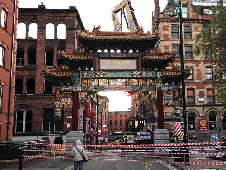 Photo: Chinatown in Manchester, Chloe Ting 2016