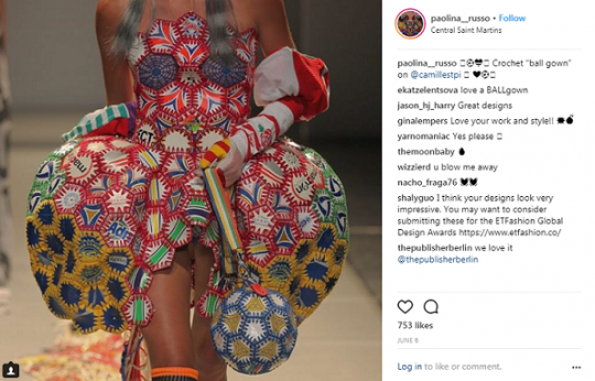 Instagram Paolina Alexandra Russo