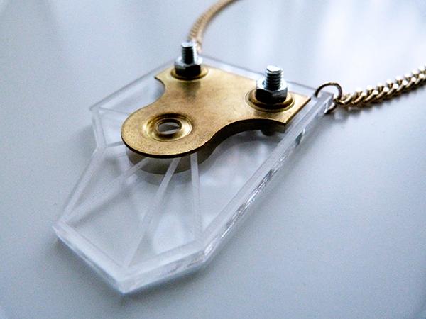 Laura Aldous Necklace Gold