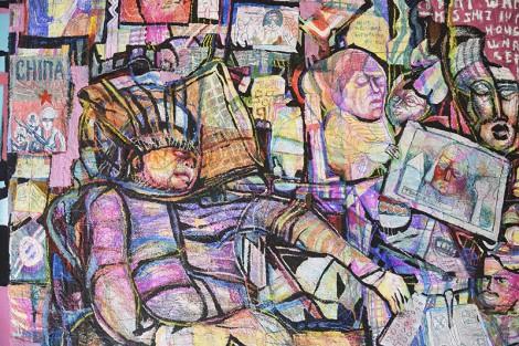 Segment of the work 'I like you, you look like a cartoon', by Tezz Kamoen