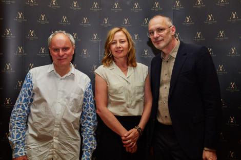 Jeremy Till, Sarah Mower and Fabio Piras