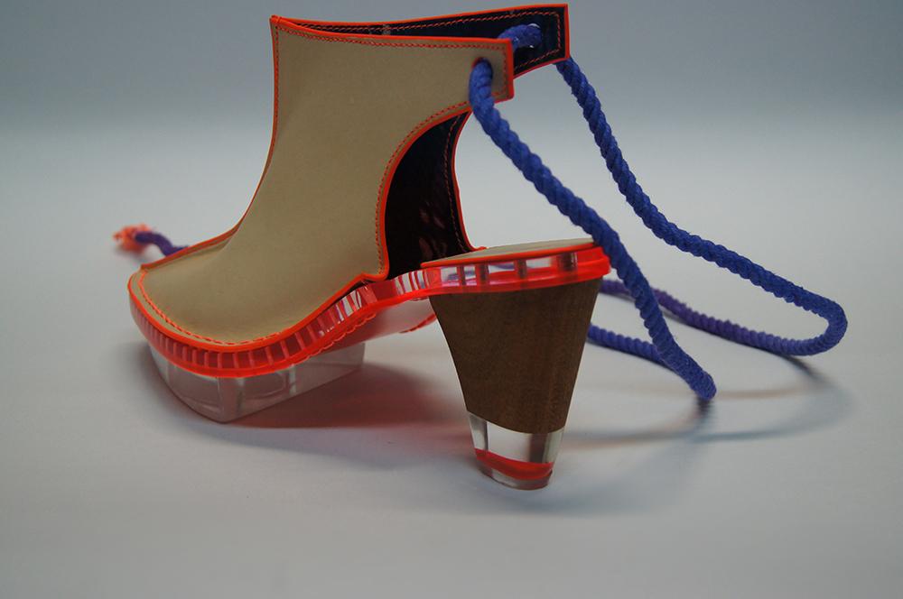 MA Footwear student Niki Jessup.